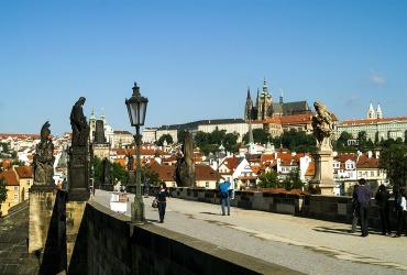 Пражский Град и Карлов мост