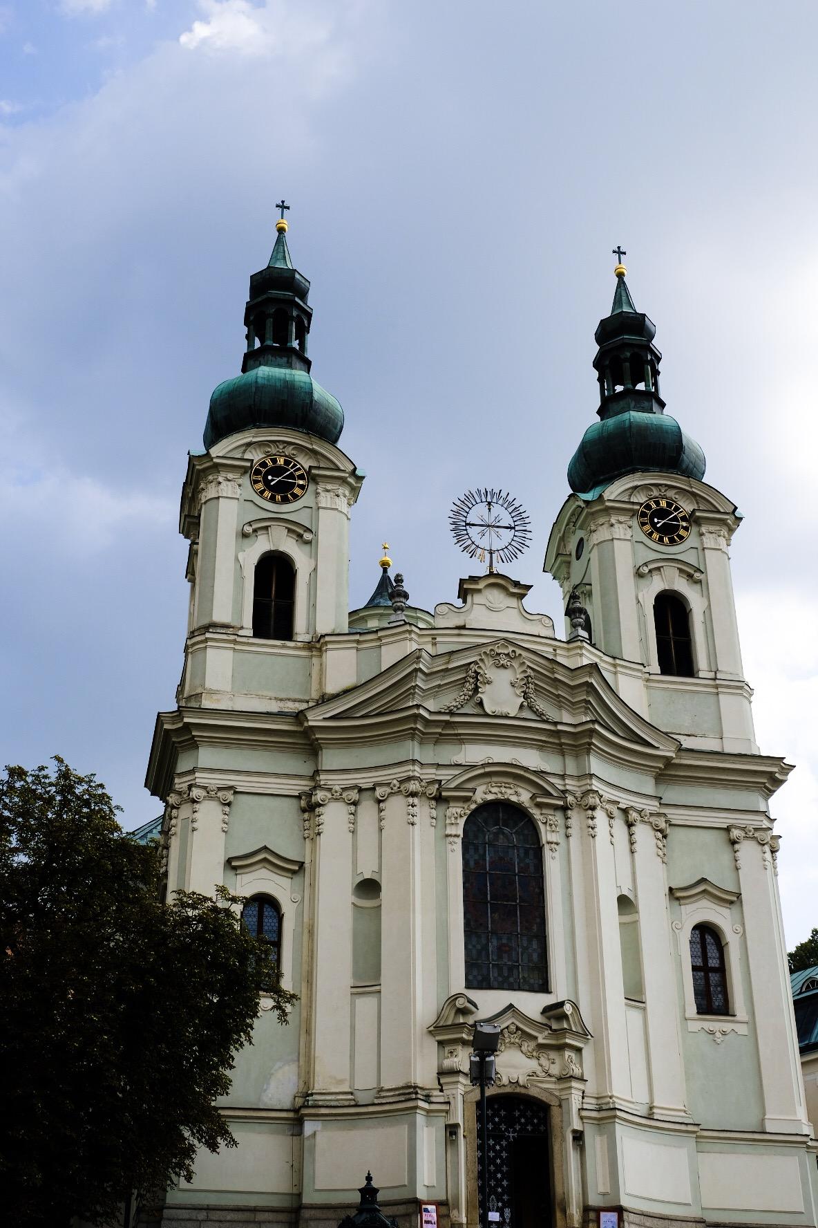 собор Марии Магдалины Карловы Вары