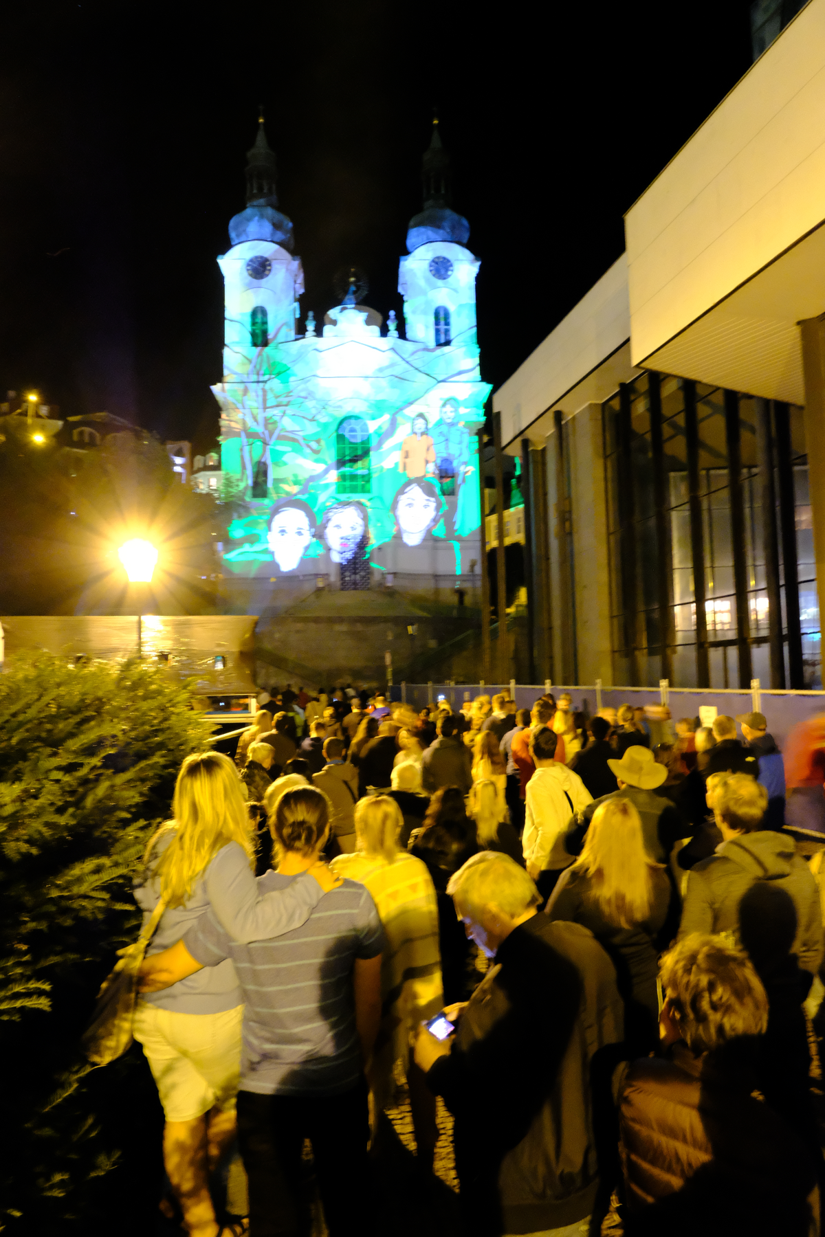 Фестиваль света в Карловых Варах 2018