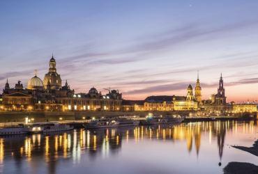 На пароходе по Эльбе от Дечина до Дрездена